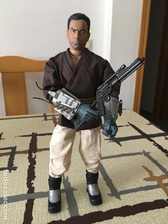 Figuras y Muñecos Star Wars: STAR WARS. Jango Fett como iniciado en la Fuerza. Figura articulada de 1/6. Customizada. - Foto 5 - 83760680