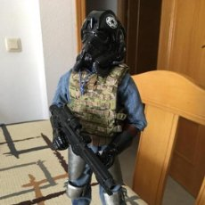 Figuras y Muñecos Star Wars: STAR WARS. PILOTO TIE FIGHTER IMPERIAL. FIGURA DE 1/6. ARTICULADA. CUSTOMIZADA.. Lote 83763508