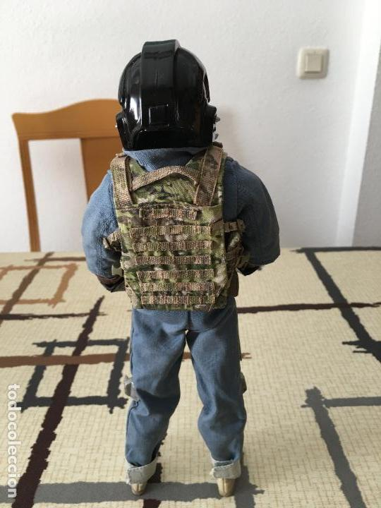 Figuras y Muñecos Star Wars: STAR WARS. Piloto Tie Fighter Imperial. Figura de 1/6. articulada. Customizada. - Foto 6 - 83763508