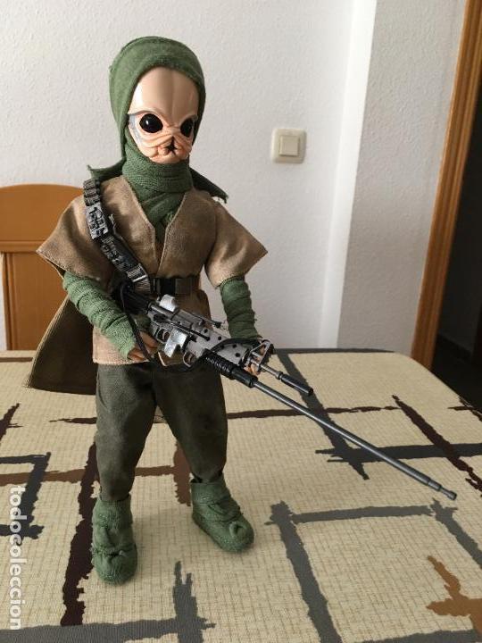 Figuras y Muñecos Star Wars: STAR WARS. Guerrero Tusken de la Alianza en la misión de Endor. Figura articulada de 1/6. Custom. - Foto 3 - 83764888