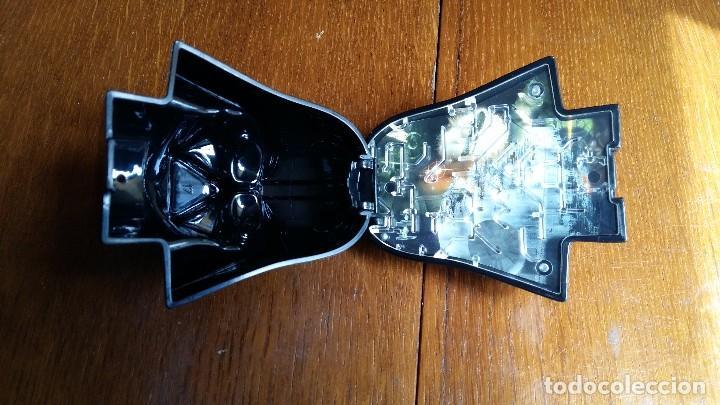 Figuras y Muñecos Star Wars: DARTH VADER CABEZA CON JUEGO Y SONIDO FUNCIONANDO ORIGINAL DE L.F.L PUBLICIDAD MACDONALS AÑO 2009 - Foto 9 - 84420772
