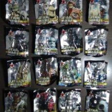 Figuras y Muñecos Star Wars: PEPSI NEX STAR WARS 16 FIGURAS BEARBRICK CELEBRACIÓN JAPON2008 - COLECCIÓN COMPLETA. Lote 82216720