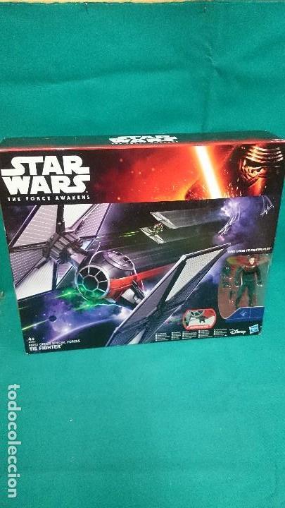 STAR WARS, TIE FIGHTER , HASBRO (Juguetes - Figuras de Acción - Star Wars)