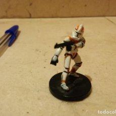 Figuras y Muñecos Star Wars: FIGURA STAR WARS - MINIATURA - CLONE TROOPER 8/60 - 2005 LFL - REPUBLIC 9. Lote 85180680