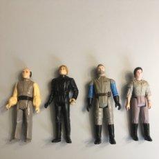 Figuras y Muñecos Star Wars: LOTE DE 4 FIGURAS STAR WARS- GUERRA DE LAS GALAXIAS- AÑOS 80. Lote 85772714