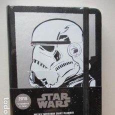 Figuras y Muñecos Star Wars: LIBRETA DE STAR WARS 2016 - NUEVA Y PRECINTADA. Lote 86068356
