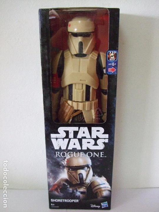 FIGURA SHORETROOPER 30 CM - STAR WARS ROGUE ONE HASBRO DISNEY SOLDADO IMPERIAL STORMTROOPER MUÑECO (Juguetes - Figuras de Acción - Star Wars)
