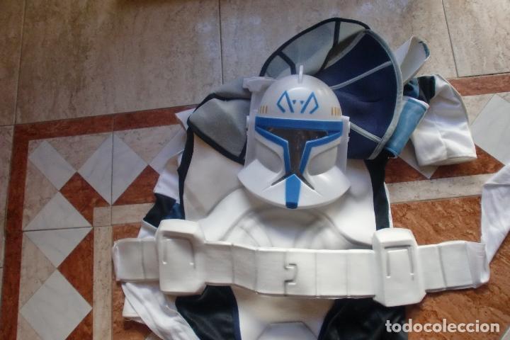 Figuras y Muñecos Star Wars: STAR WARS TRAJE-DISFRAZ RUBIES 2008 CAPTAIN REX.VER FOTOS Y DESCRIPCION - Foto 2 - 147197550