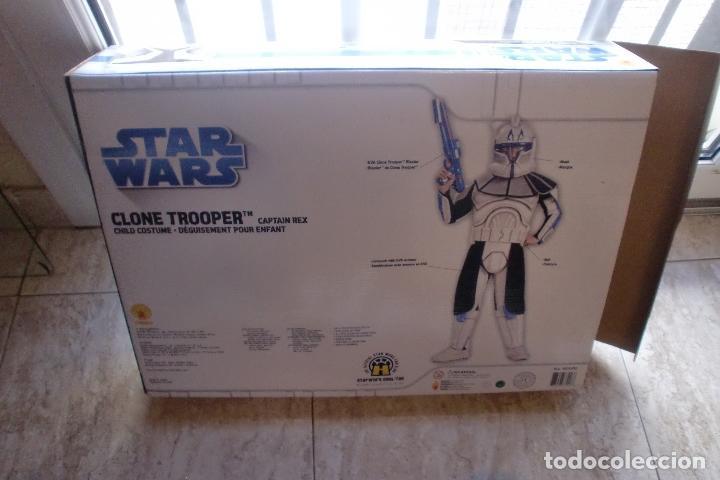 Figuras y Muñecos Star Wars: STAR WARS TRAJE-DISFRAZ RUBIES 2008 CAPTAIN REX.VER FOTOS Y DESCRIPCION - Foto 4 - 147197550
