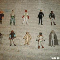 Figuras y Muñecos Star Wars: LOTE 10 FIGURAS KENNER STAR WARS LUKE PRUNE FACE REE YEES CHIRPA... 12. Lote 88142612