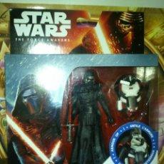Figuras y Muñecos Star Wars: FIGURA STAR WARS DE KYLO REN ARMOR UP 10 CM - HASBRO - 2015, NUEVA, EN CAJA, SIN ABRIR.. Lote 88815272