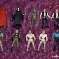 Figuras y Muñecos Star Wars: LOTE DE 10 FIGURAS / MUÑECOS - STAR WARS - KENNER - AÑOS 90 - ORIGINAL - MIRA LAS FOTOS - HAZ OFERTA. Lote 89002240