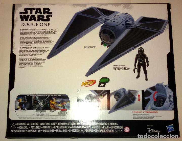 Figuras y Muñecos Star Wars: STAR WARS # TIE STRIKER CON TIE FIGHTER PILOT # ROGUE ONE - NUEVO EN SU CAJA ORIGINAL DE HASBRO. - Foto 2 - 116630616