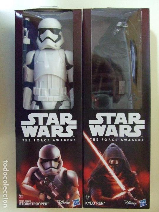 FIGURA KYLO REN + STORMTROOPER FIRST ORDER 30 CM - STAR WARS THE FORCE AWAKENS DISNEY HASBRO (Juguetes - Figuras de Acción - Star Wars)