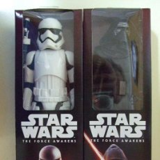 FIGURA KYLO REN + STORMTROOPER FIRST ORDER 30 CM - STAR WARS THE FORCE AWAKENS DISNEY HASBRO