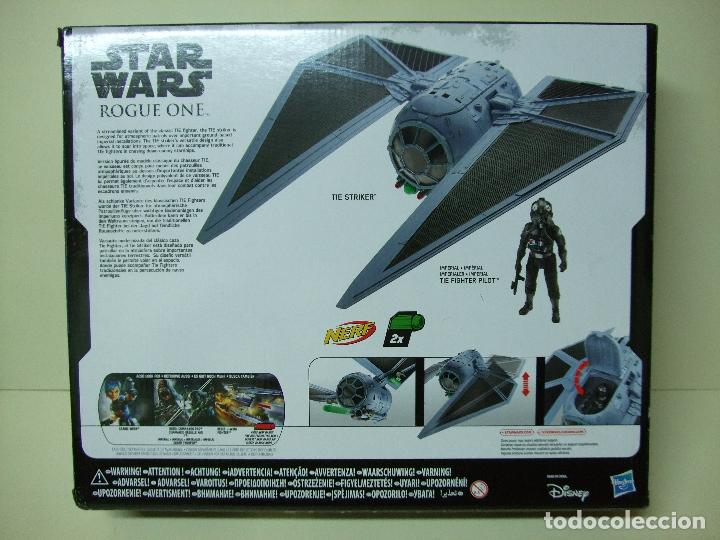 Figuras y Muñecos Star Wars: NAVE TIE STRIKER CON FIGURA IMPERIAL TIE FIGHTER PILOT - ROGUE ONE STAR WARS DISNEY HASBRO - NUEVO - Foto 3 - 116447443