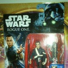 Figuras y Muñecos Star Wars: FIGURA STAR WARS-ROGUE ONE DE CHIRRUT ÍMWE - HASBRO - DISNEY - 2016, NUEVA, EN CAJA. Lote 89464472