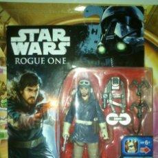 Figuras y Muñecos Star Wars: FIGURA STAR WARS-ROGUE ONE DE CASSIAN ANDOR - HASBRO - DISNEY - 2016, NUEVA, EN CAJA. Lote 89464744