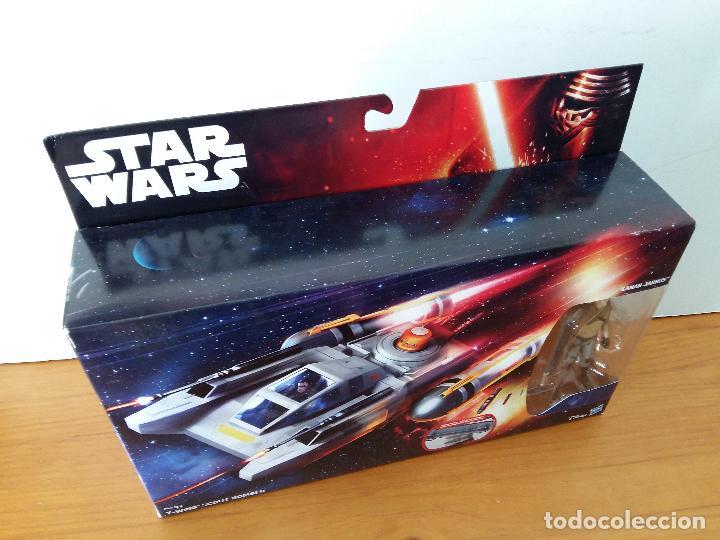 Figuras y Muñecos Star Wars: STAR WARS KANAN JARRUS Y WING SCOUT BOMBER. - Foto 3 - 89743672