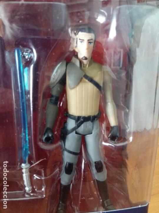 Figuras y Muñecos Star Wars: STAR WARS KANAN JARRUS Y WING SCOUT BOMBER. - Foto 4 - 89743672