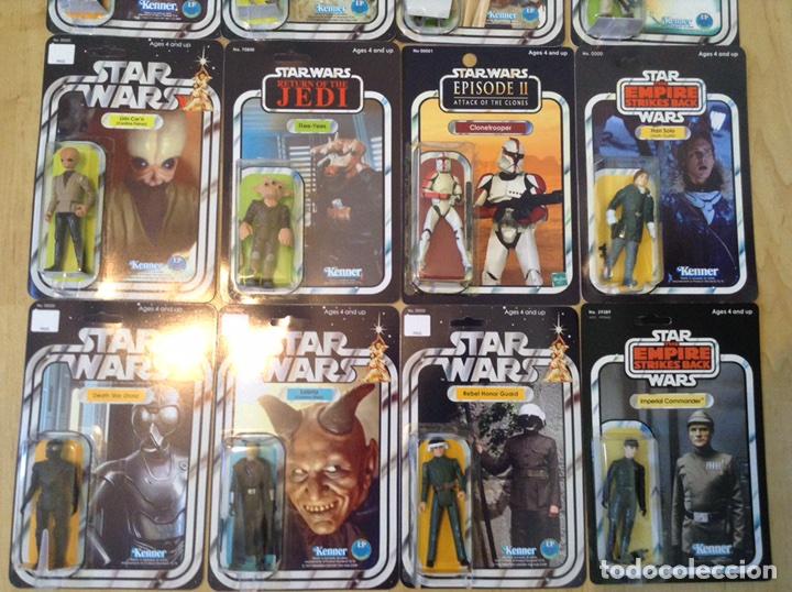 STAR WARS LOTE CUSTOM EXCLUSIVO IDEAL PARA COLECCIONISTAS (Juguetes - Figuras de Acción - Star Wars)