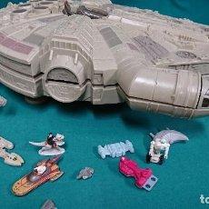 Figuras y Muñecos Star Wars: NAVE HALCÓN MILENARIO, MICROMACHINES, STAR WARS. Lote 92131440