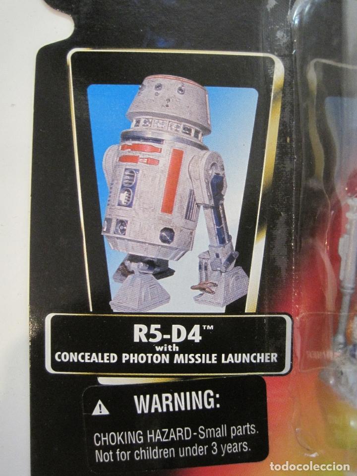 Figuras y Muñecos Star Wars: STAR WARS FIGURA R5-D4 DEL AÑO 1996 EN BLISTER Y PROTECTOR PVC - Foto 6 - 92245755
