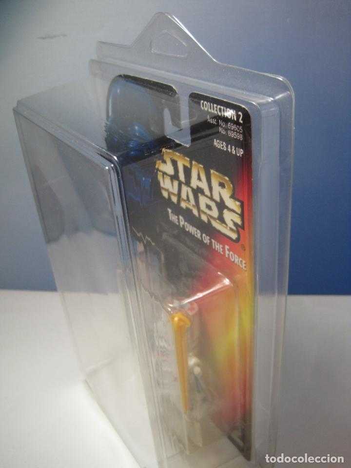 Figuras y Muñecos Star Wars: STAR WARS FIGURA R5-D4 DEL AÑO 1996 EN BLISTER Y PROTECTOR PVC - Foto 7 - 92245755