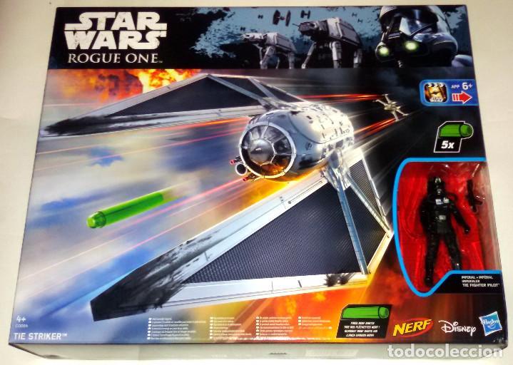 STAR WARS # TIE STRIKER CON TIE FIGHTER PILOT # ROGUE ONE - NUEVO EN SU CAJA ORIGINAL DE HASBRO. (Juguetes - Figuras de Acción - Star Wars)