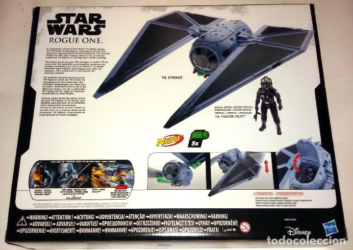 Figuras y Muñecos Star Wars: STAR WARS # TIE STRIKER CON TIE FIGHTER PILOT # ROGUE ONE - NUEVO EN SU CAJA ORIGINAL DE HASBRO. - Foto 2 - 92845565