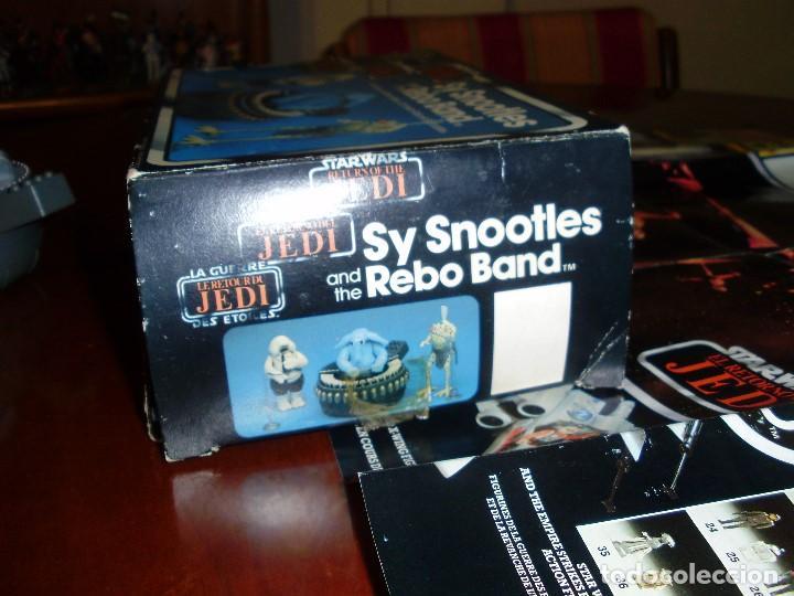 Figuras y Muñecos Star Wars: REBO BAND TRILOGO STAR WARS VINTAGE RETORNO DEL JEDI - Foto 6 - 93403775
