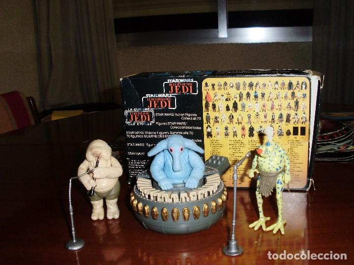 Figuras y Muñecos Star Wars: REBO BAND TRILOGO STAR WARS VINTAGE RETORNO DEL JEDI - Foto 8 - 93403775
