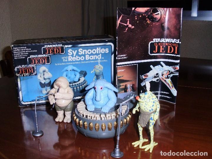 Figuras y Muñecos Star Wars: STAR WARS REBO BAND ( LAS 2 VERSIONES ) SY SNOOTLES RETORNO DEL JEDI KENNER VINTAGE - Foto 5 - 93404840
