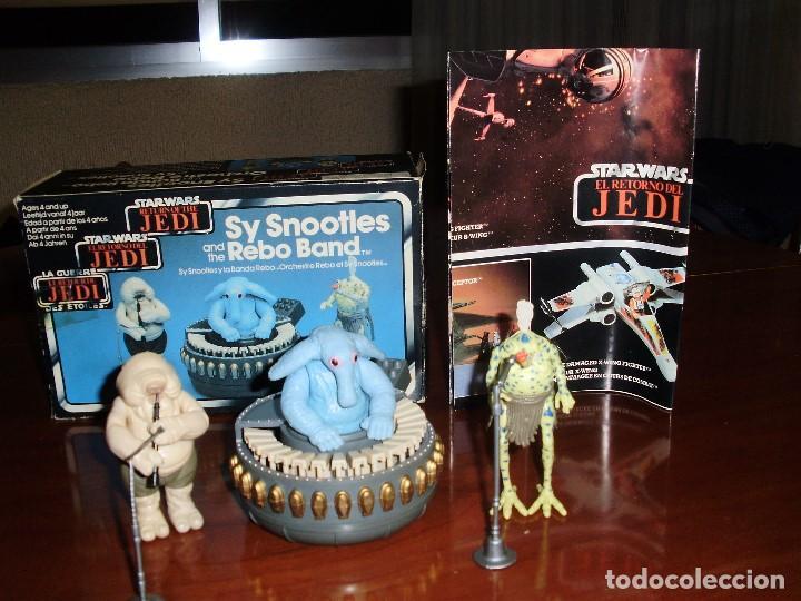Figuras y Muñecos Star Wars: STAR WARS REBO BAND ( LAS 2 VERSIONES ) SY SNOOTLES RETORNO DEL JEDI KENNER VINTAGE - Foto 7 - 93404840