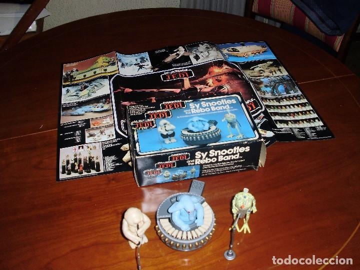 Figuras y Muñecos Star Wars: STAR WARS REBO BAND ( LAS 2 VERSIONES ) SY SNOOTLES RETORNO DEL JEDI KENNER VINTAGE - Foto 8 - 93404840