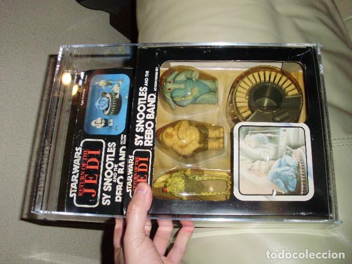 Figuras y Muñecos Star Wars: STAR WARS REBO BAND ( LAS 2 VERSIONES ) SY SNOOTLES RETORNO DEL JEDI KENNER VINTAGE - Foto 9 - 93404840