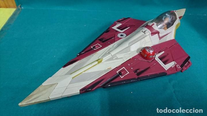 Figuras y Muñecos Star Wars: NAVE STAR WARS, HASBRO, 2001 - Foto 2 - 93605525