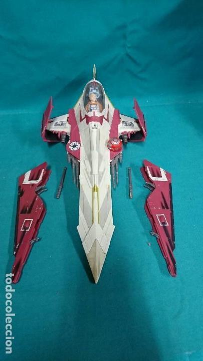 Figuras y Muñecos Star Wars: NAVE STAR WARS, HASBRO, 2001 - Foto 6 - 93605525