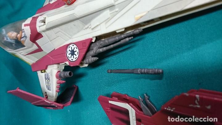 Figuras y Muñecos Star Wars: NAVE STAR WARS, HASBRO, 2001 - Foto 8 - 93605525