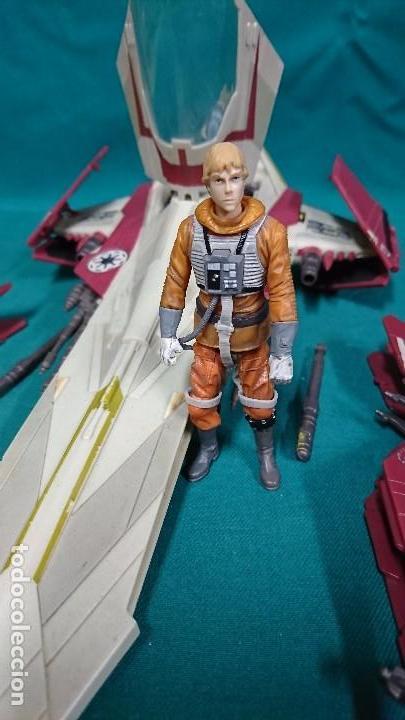 Figuras y Muñecos Star Wars: NAVE STAR WARS, HASBRO, 2001 - Foto 9 - 93605525