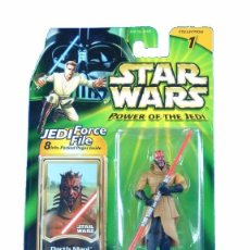 Figuras y Muñecos Star Wars: STAR WARS POWER OF THE JEDI - DARTH MAUL - HASBRO. Lote 94750051
