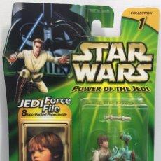 Figuras y Muñecos Star Wars: STAR WARS POWER OF THE JEDI - ANAKIN SKYWALKER MECHANIC - HASBRO. Lote 94750387