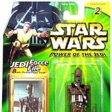 Figuras y Muñecos Star Wars: STAR WARS POWER OF THE JEDI - IG-88 - HASBRO. Lote 94750655