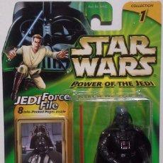 Figuras y Muñecos Star Wars: STAR WARS POWER OF THE JEDI - DARTH VADER - HASBRO. Lote 94751255