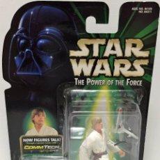 Figuras y Muñecos Star Wars: STAR WARS POWER OF THE FORCE - LUKE - HASBRO. Lote 94752087