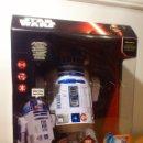 Figuras y Muñecos Star Wars: STAR WARS - R2D2 - R2-D2 - ROBOT - INTERACTIVO - LUCES SONIDOS - MANDO IR - 45 CM - PRECINTADO NUEVO. Lote 94830819