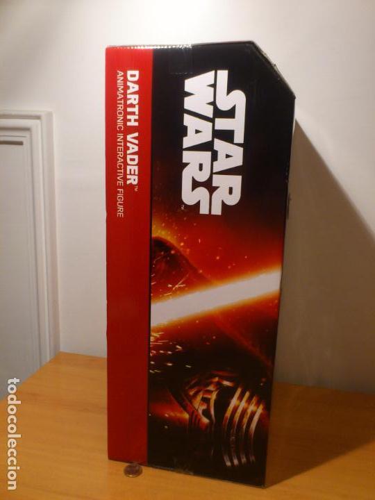 Figuras y Muñecos Star Wars: STAR WARS - DARTH VADER - FIGURA - 45 CM - MOVIMIENTO - LUCES SONIDOS - INTERACTIVO - THINKWAY NUEVO - Foto 5 - 94874191