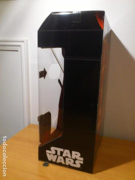 Figuras y Muñecos Star Wars: STAR WARS - DARTH VADER - FIGURA - 45 CM - MOVIMIENTO - LUCES SONIDOS - INTERACTIVO - THINKWAY NUEVO - Foto 7 - 94874191