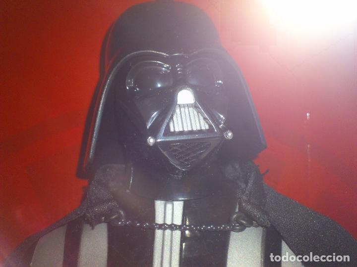 Figuras y Muñecos Star Wars: STAR WARS - DARTH VADER - FIGURA - 45 CM - MOVIMIENTO - LUCES SONIDOS - INTERACTIVO - THINKWAY NUEVO - Foto 12 - 94874191