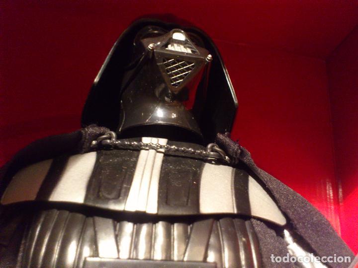 Figuras y Muñecos Star Wars: STAR WARS - DARTH VADER - FIGURA - 45 CM - MOVIMIENTO - LUCES SONIDOS - INTERACTIVO - THINKWAY NUEVO - Foto 18 - 94874191